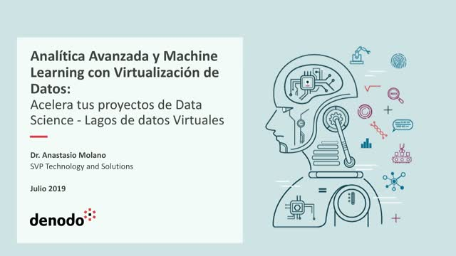 Analítica avanzada y Machine Learning con virtualización de datos