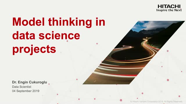 Model Thinking in Data Science Projects