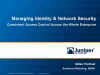 Consistent Access Control Across the Whole Enterprise