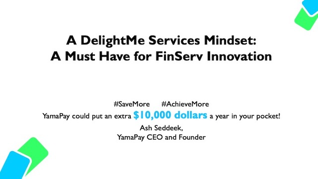 A DelightMe Services Mindset: A Must-Have for FinServ Innovation
