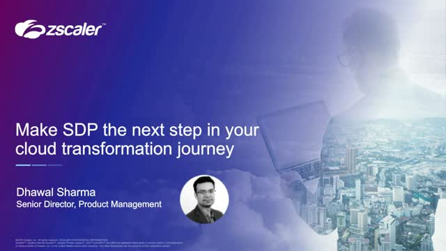 Make SDP The Next Step In Your Cloud Transformation
