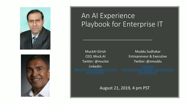An AI Experience Playbook for Enterprise IT