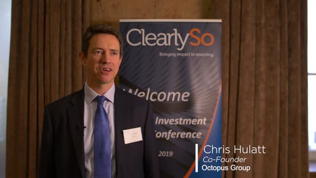 ClearlySo IIFC 2019 - Interview with Chris Hulatt, Octopus Group