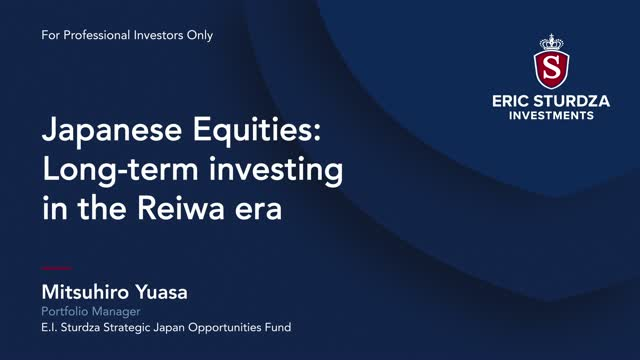 Japanese Equities - Long-term investing in the Reiwa era
