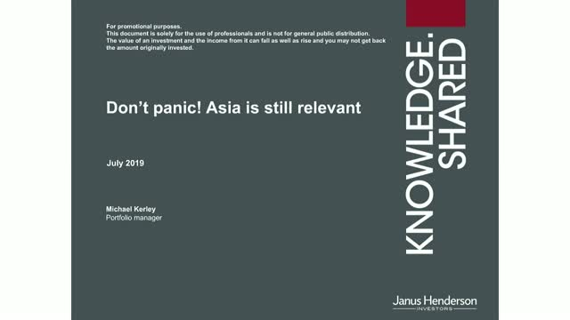 Don't panic! Asia is still relevant