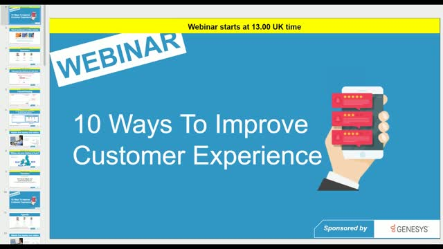 10 Ways to Improve Customer Experience