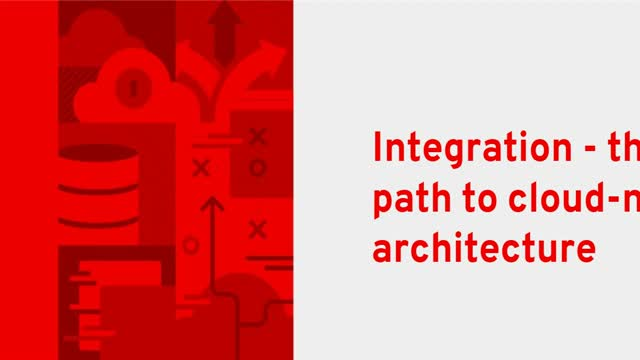 Integration - the path to cloud-native architecture