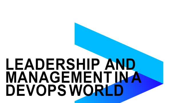 Leadership and Management in a DevOps World