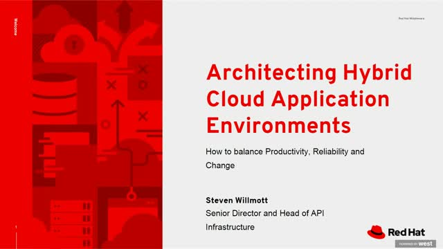 Hybrid Cloud Application Environments for Productivity, Reliability & Change