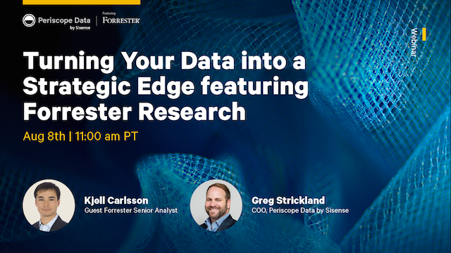 Turning Your Data into a Strategic Edge featuring Forrester Research