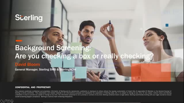 Background Screening: Are you checking a box or really checking?