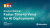 Analyst Webinar: Faster Time-to-Value for AI Deployments
