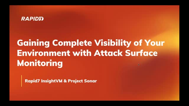Gaining Complete Visibility of Your Environment with Attack Surface Monitoring