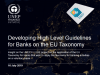 High level Guidelines for Banks on the EU Taxonomy
