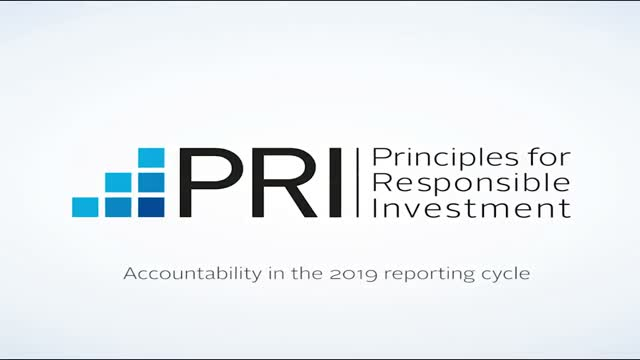 PRI: Accountability in the 2019 reporting cycle