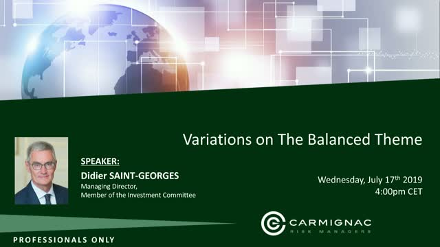 Carmignac Investment Views: Variations on the balance theme