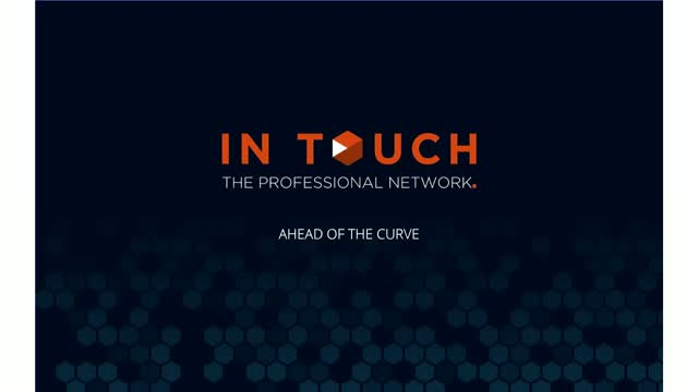 Ahead of the Curve - Introduction Session to an In Touch Course in USA