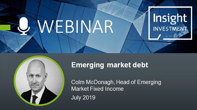 Emerging Market Review and Outlook   July 2019
