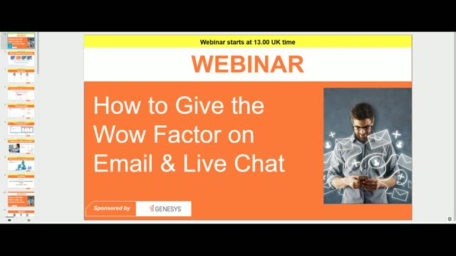 How to Give the Wow Factor on Email and Live Chat