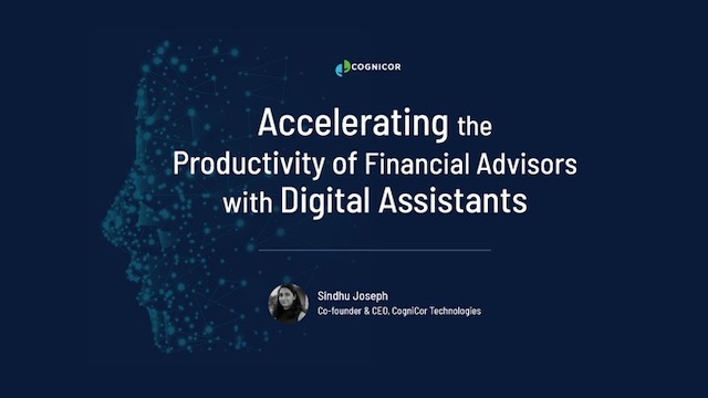 Accelerating the Productivity of Financial Advisors with Digital Assistants