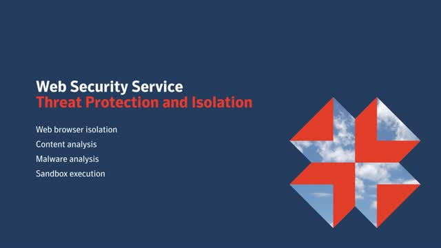 Symantec Web Security Service Threat Protection & Isolation (Demo Video)
