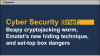 Cyber Security Brief: Beapy worm, Emotet's hiding skill & set-top box dangers