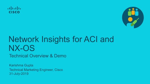 Network Insights for ACI and NX-OS