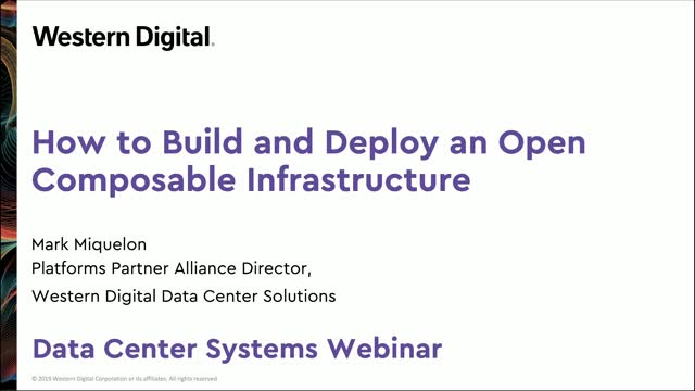How to Build and Deploy an Open Composable Infrastructure
