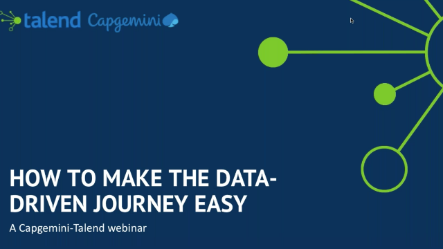 Making the Data-Driven Journey Easy