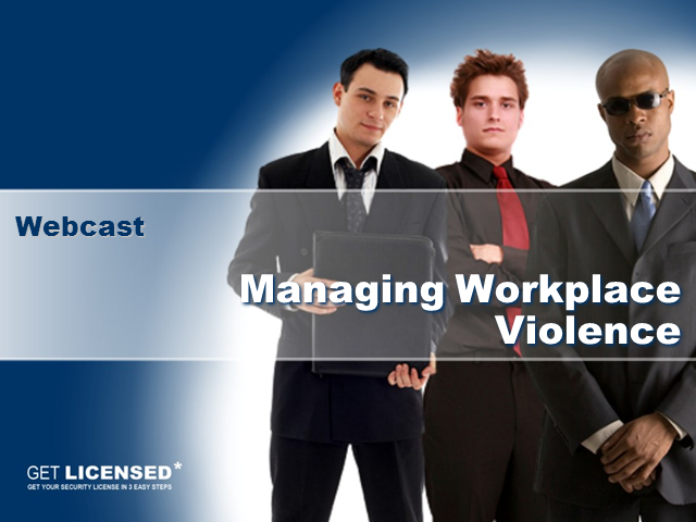 Tackling Workplace Violence