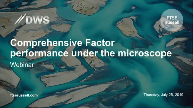 Comprehensive Factor performance under the microscope