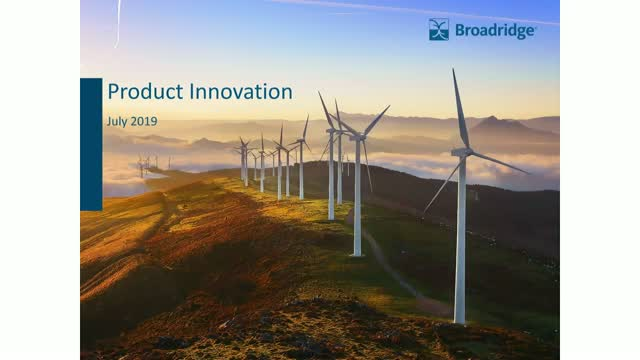 Product Innovation – ESG Moves Centre Stage