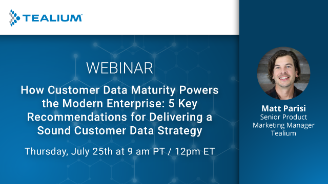 How Customer Data Maturity Powers the Modern Enterprise