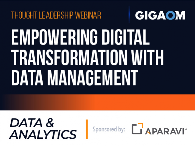 Empowering Digital Transformation with Data Management