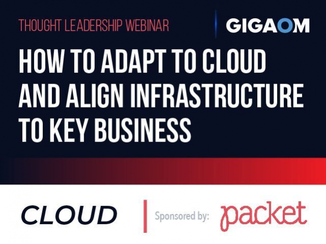 How to Adapt to Cloud and Align Infrastructure to Key Business Objectives