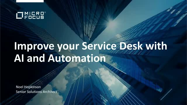 How AI and Automation Can Improve Your Service Desk