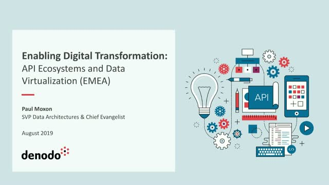 Enabling Digital Transformation: API Ecosystems and Data Virtualization (EMEA)