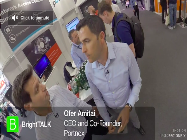 360 Infosec Interview with Ofer Amitai, Portnox