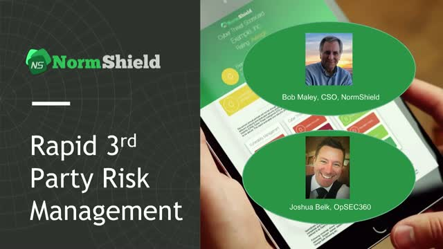 Rapid 3rd Party Risk Management