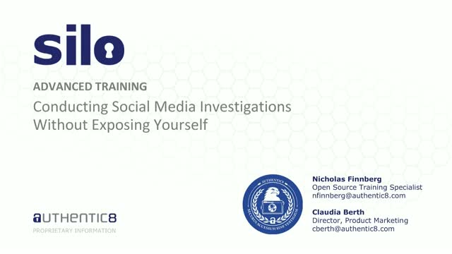 Conducting Social Media Investigations Without Exposing Yourself