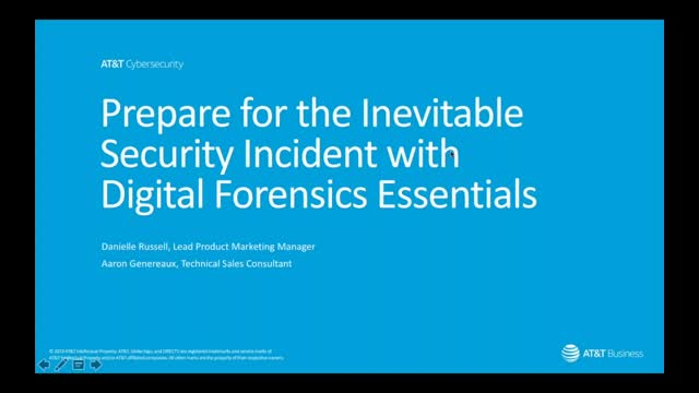 How to Prepare for the Inevitable Security Incident with Digital Forensics Essen
