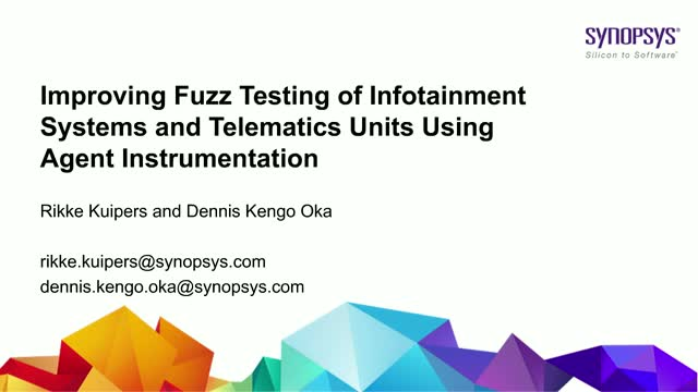 Improving Fuzz Testing of Infotainment Systems and Telematics Units using Agent