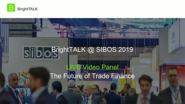 Livestream Discussion - The Future of Trade Finance
