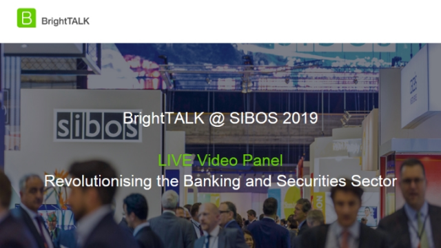 Livestream Discussion – Revolutionising the Banking and Securities Sector