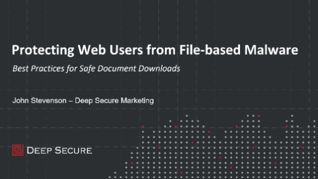 Protecting Web Users from File-based Malware