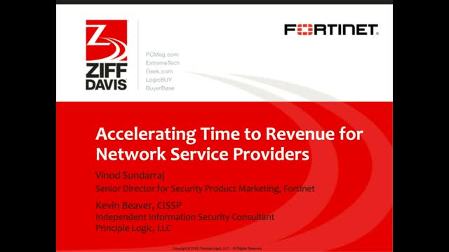 Accelerating Time to Revenue for Network Service Providers