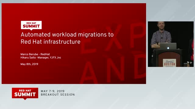 Automated workload migrations to Red Hat infrastructure