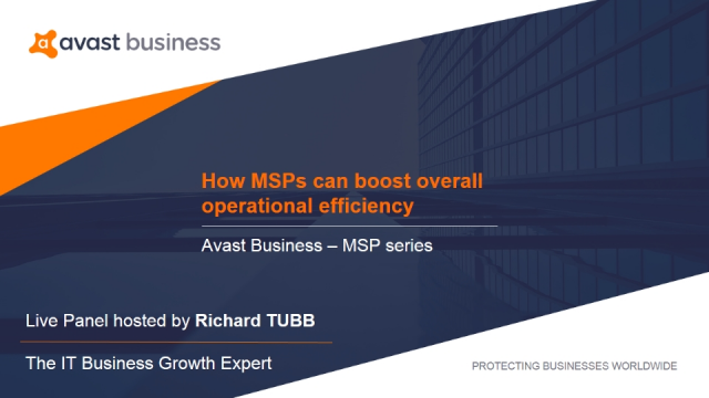 How MSPs can boost overall operational efficiency