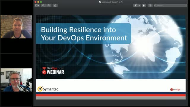 Building Resilience into Your DevOps Environment