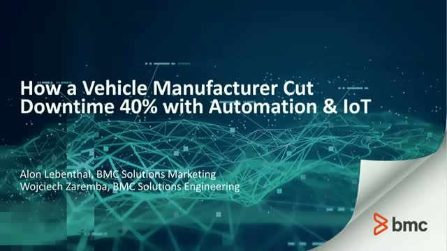 How a Vehicle Manufacturer Cut Downtime 40% with Automation & IoT